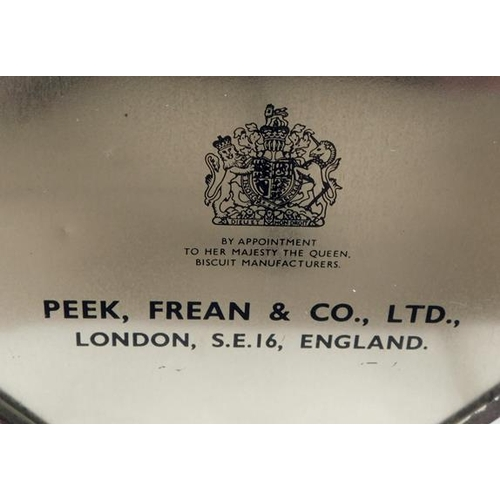 195 - Original Peak Frean vintage biscuit tin