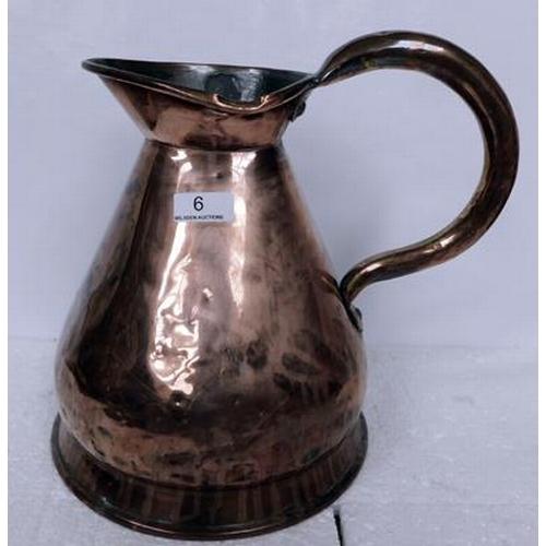 6 - Gallon Copper jug