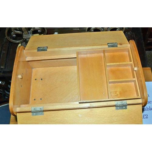 12 - Retro sewing box...