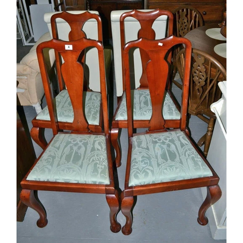 4 - 4 dining chairs...