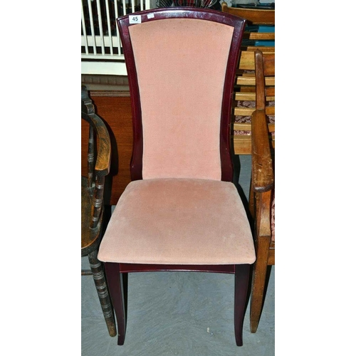 45 - Dining chair...
