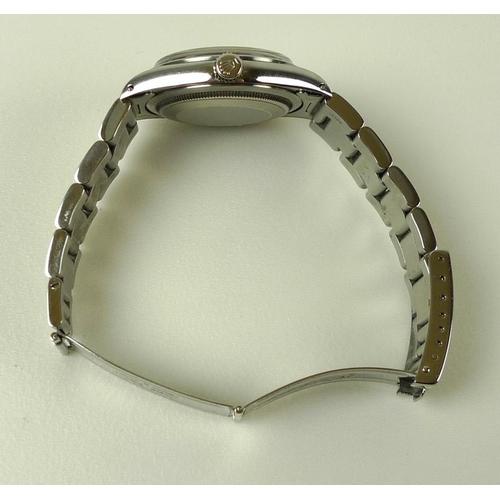 800 - A Rolex Oyster Perpetual Explorer steel cased gentleman's wristwatch, Superlative Chronometer Offici...