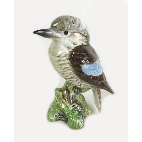 514 - A collection of six ceramic figures comprising three Beswick models, pheasant, model no. 1225, kooka...