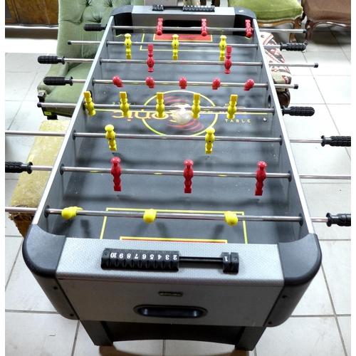 150 - A table football table, modern....