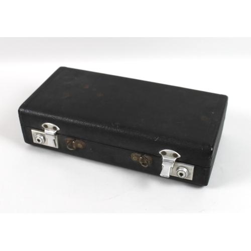55 - A Buffet Crampon & Cie Paris Bb clarinet, circa 1940s, serial 36320, with additional Vandoren A2 cry...