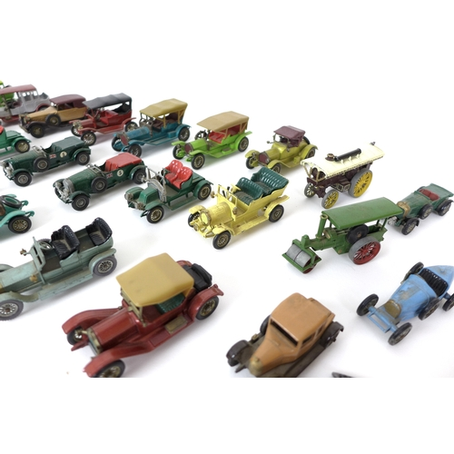 120 - A collection of vintage toy cars, mostly Matchbox Models of Yesteryear by Lesney...