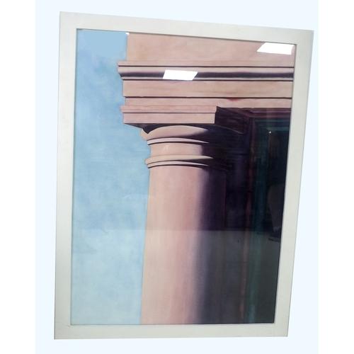168 - Salvatore Ventura (American, b. 1960): a modern architectural watercolour of a Greek column, 96 by 7...