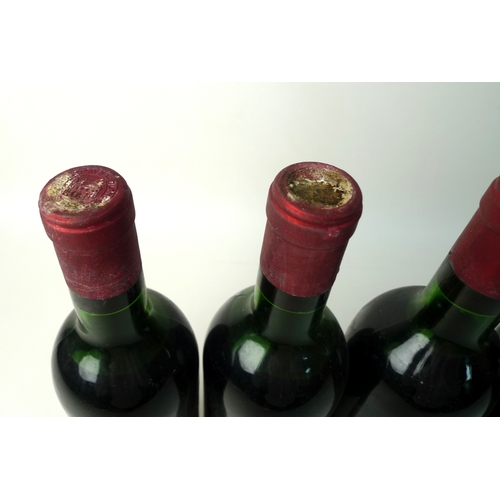 97 - Vintage Wine: four bottles of Chateau Cheval Blanc, 1966, Premier Grand Cru Classe, St Emilion, U: t...