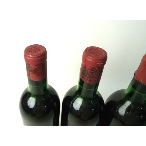 99 - Vintage Wine: five bottles of Chateau Lafite-Rothschild, 1970, Premier Grand Cru Classe, Pauillac, U...
