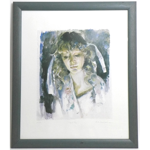 159 - After Robert Lenkiewicz (British, 1941-2002): Study of Mary, a limited edition print, 82/350, signed...