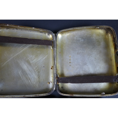 64 - A pair of Georgian silver cauldron salts with stepped foot feet, London 1757 or 1762 (marks rubbed),...