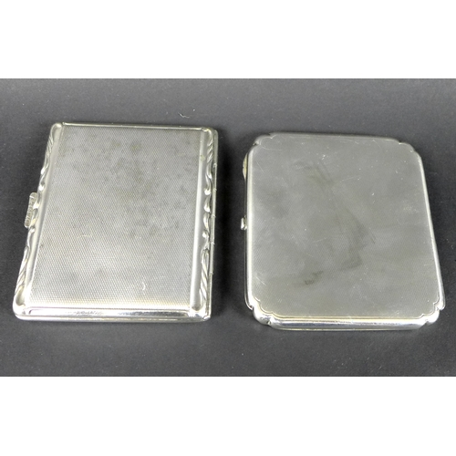 9 - A collection of silver including a pair of miniature Continental silver salt cellars formed as music...