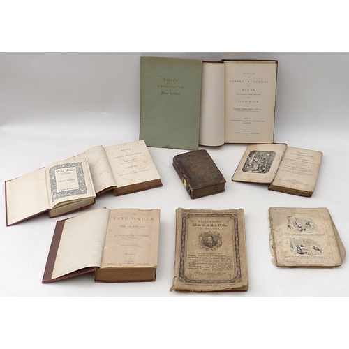 44 - A collection of assorted 19th century and later books, including Ludmila, by Paul Gallico, some lack...