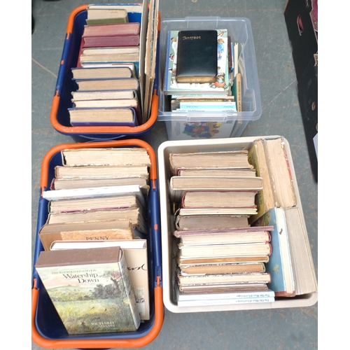 199 - A large collection of 20th century children's books, various authors. (4 crates)...