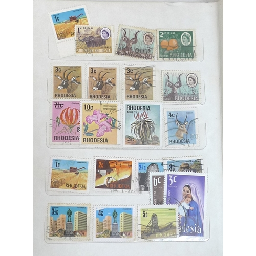 364 - A large and extensive collection of stamps, mostly 20th century though some Victorian, including mid...