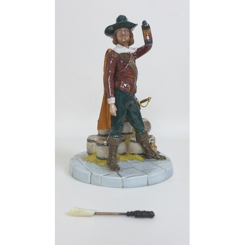 29 - A Royal Doulton figurine of Guy Fawkes HN4784 limited edition 0264/350, 26cm high, in original box w...