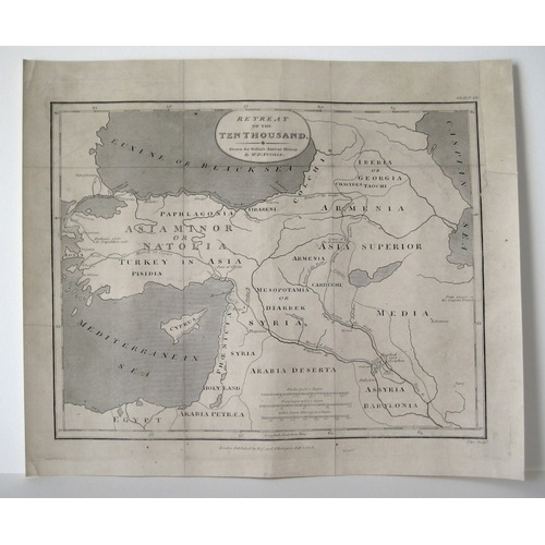 155 - After Jean Baptiste D'Anvil (French, 1697-1782): a collection of maps, drawn for Rollins Antient His...