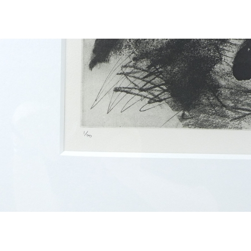 163 - After John Piper (British, 1903-1992): 'Nude I', etching, 1986, limited edition 1/70, signed in penc...