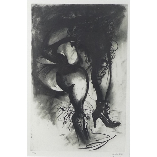 164 - After John Piper (British, 1903-1992): 'Nude II', etching, 1987, limited edition 29/70, signed in pe...