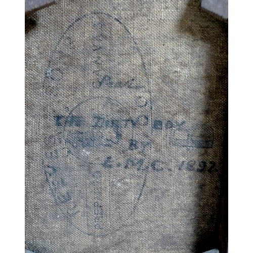 197 - L. M. C. (British, 19th century): 'The Dirty Boy', initialled and dated 1897 lower right, titled and...