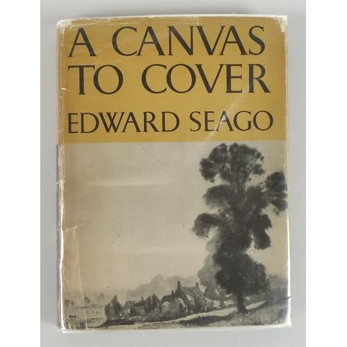 300 - Edward Seago RBA ARWS RWS (British, 1910–1974): 'Sunset - Poole Harbour', unsigned, oil on artist's ...