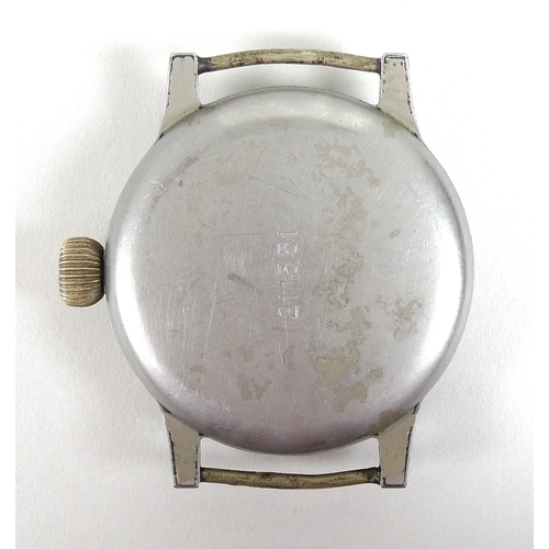 170 - A German WWII Luftwaffe Type A Observers Watch or Beobachtungsuhr (B-Uhr), signed A. Lange & Sohne, ...