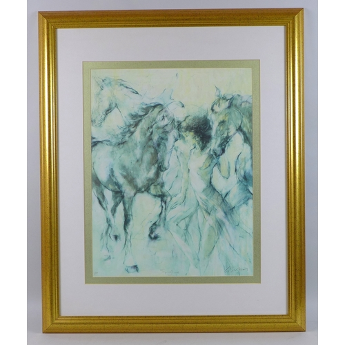 2 - After Gary Benfield (British, b. 1965): a group of four limited edition prints, 'Equinox', AP, and '...