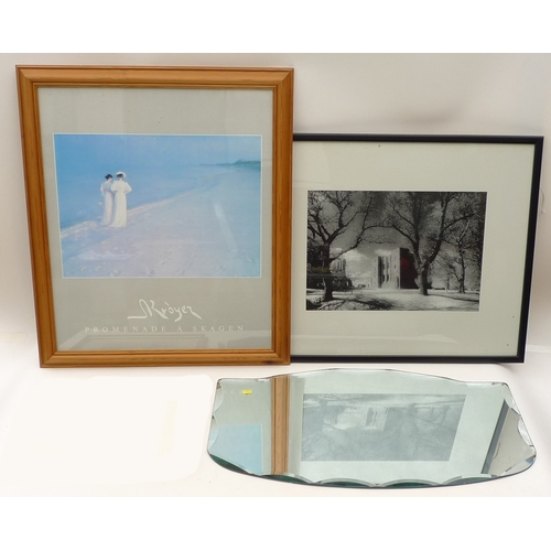 22 - A collection of memorabilia for the 1972 Munich Olympics, together with a selection of prints, an et...