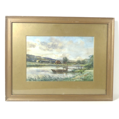 18 - Peter Toseland ARCA (British, b. 1917): a portfolio of six signed watercolours, including three of W...