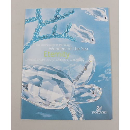 13 - Swarovski Crystal Wonders of the Sea, Eternity, Annual Edition 2006, second piece in a series of thr...