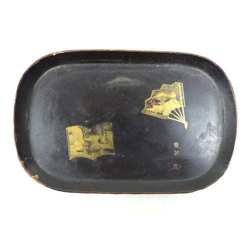 113 - A group of siver, vertu and collectables, comprising a Georgian horn snuff box with tortoiseshell ve...