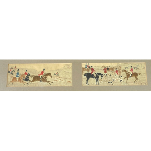 115 - A group of seven Victorian and Edwardian Stevengraphs, comprising 'The Death of Nelson' and 'Welling...