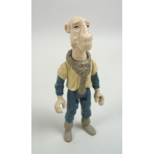146 - An original 1985 Star Wars toy action figure Yak face, without box and gun, figure only....