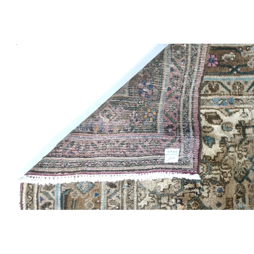 319 - A large Hamadan carpet, 380 by 220cm....