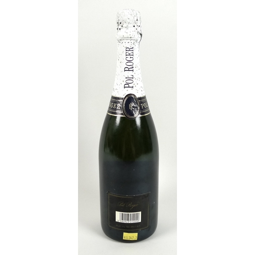 217 - Vintage Champagne: a bottle of Pol Roger Champagne, Extra Dry White Foil....