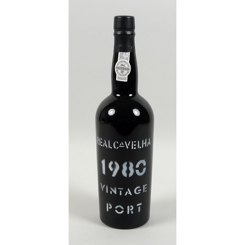 196 - Vintage Port: a bottle of Real Cavelha vintage port, 1980....