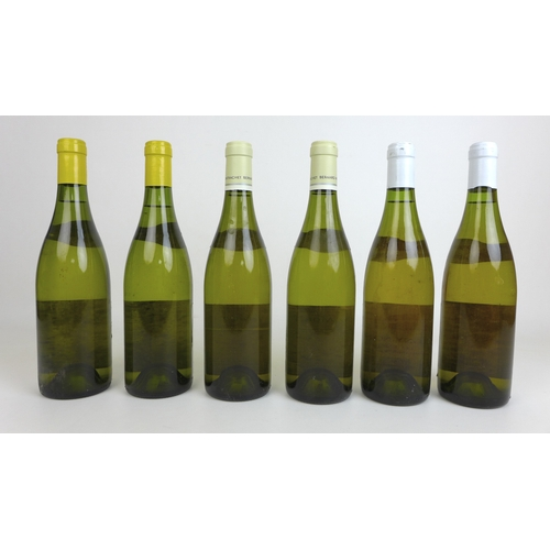 201 - Vintage Wine: a mixed parcel of Montrachet, comprising two bottles of Domaine Bernard Morey et Fils ...