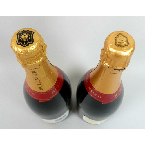 221 - Vintage Champagne: two bottles of Bollinger Champagne, comprising Special Cuvee Brut and Special Cuv...
