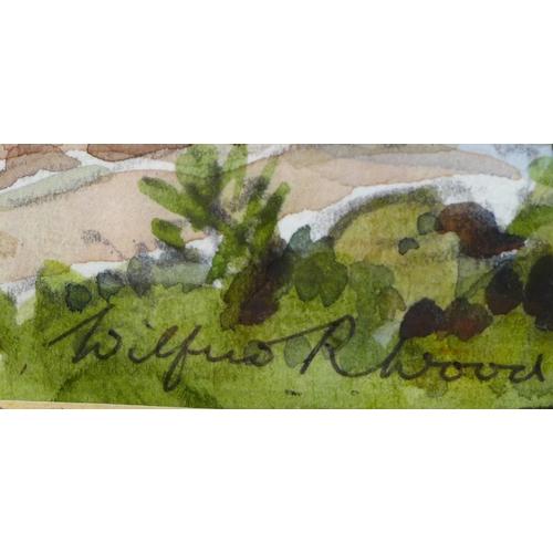 243 - Wilfrid Rene Wood (British, 1888-1976): Handa Island, Scourie Bay, likely painted in 1962, when the ...