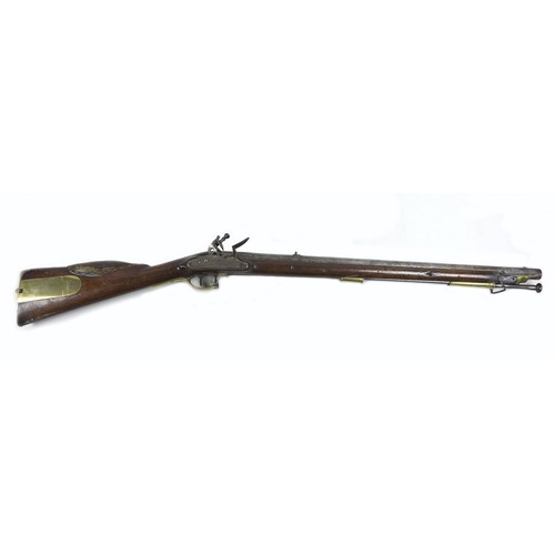 138 - An early 19th century militia Baker carbine rifle by Henry Nock, London, with Nock's patent screwles...