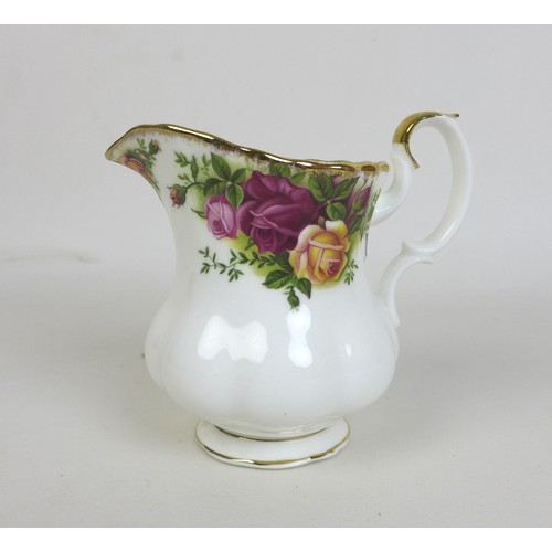 26 - A Royal Albert part dinner, tea and coffee service, decorated in the Old Country Roses pattern, eigh...