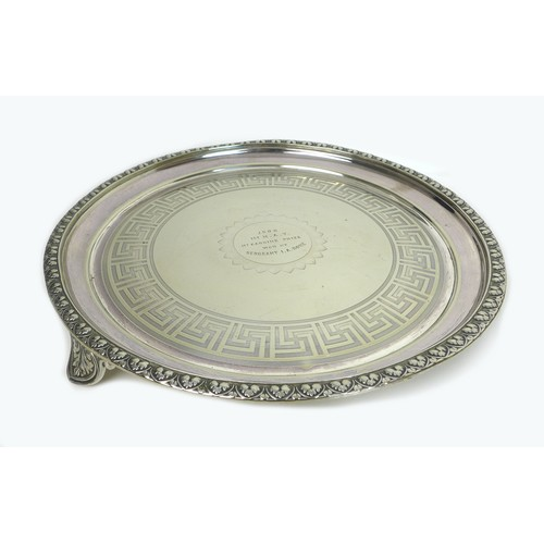 39 - A collection of silver plated, copper, brass and other metal items, including decorative tray, pewte...