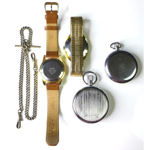 109 - A Seiko Automatic gold plated and steel cased gentleman's wristwatch, 17 jewels movement, numbered t...