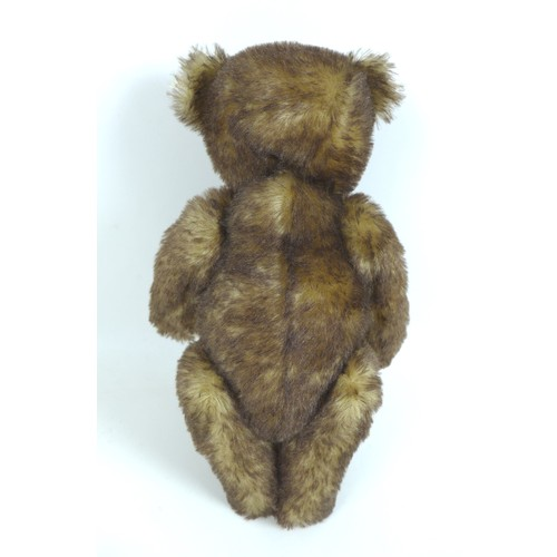 116 - Two Steiff limited edition teddy bears, a 1995 brown tipped British Collector's teddy, 36cm high wit...