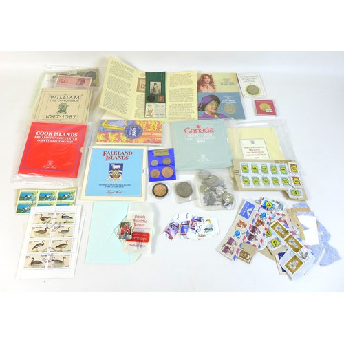 132 - A collection of eight uncirculated coin sets, comprising 1982 Seychelles, 1983 Cook Islands, 1983 Ca...