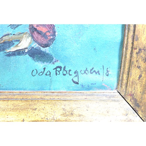 171 - Oda Peters, nee Borgesen/Børgesen (Danish, 1894-1987): 'Evighedsblomster' (Eternity Flowers), signed...