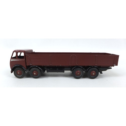 126 - A collection of over twenty vintage die cast model toys for restoration, mostly Dinky Toys,  includi...