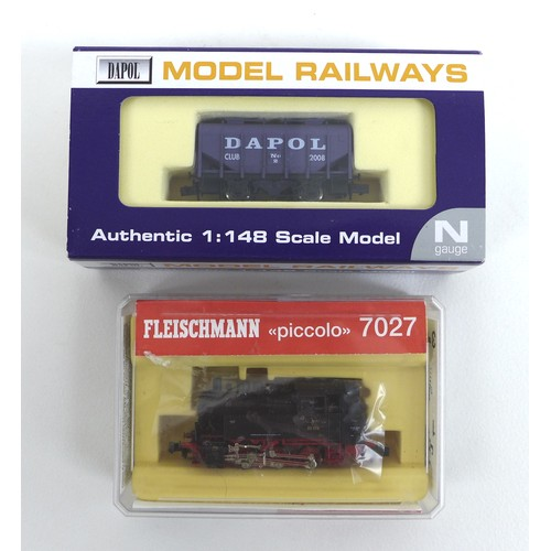 122 - A collection of various railway and steam models, comprising two limited edition Corgi Vintage Glory...