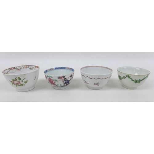 41 - A collection of fifteen pieces of 18th and 19th century British porcelain and other items, comprisin...