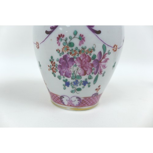 53 - A collection of various 19th century British and oriental porcelain, including a New Hall style liba...